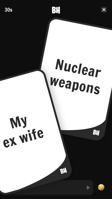 Black Humor - Cards Game for windows pc
