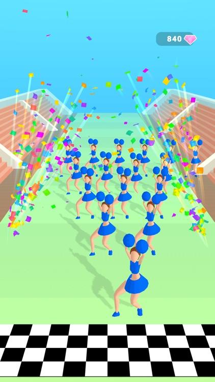 Cheerleader Run 3d screenshot-4