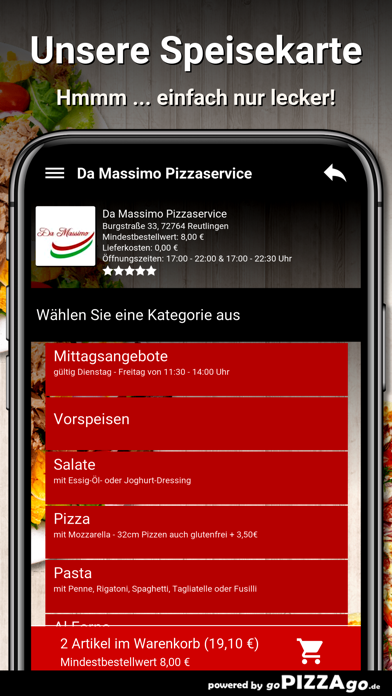 Da Massimo Reutlingen screenshot 4