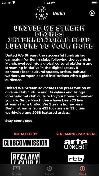messages.download United We Stream software