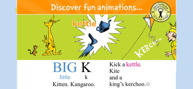 ‎Dr. Seuss's ABC - Read & Learn Screenshot
