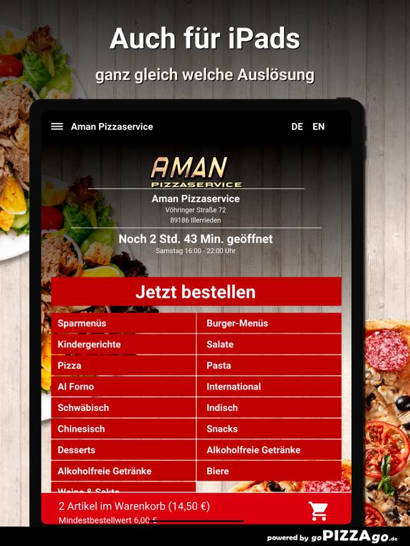 Aman Pizzaservice Illerrieden screenshot 7