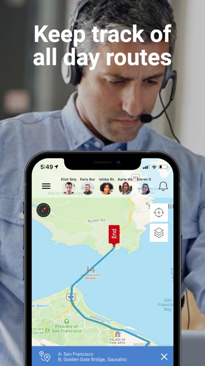 Hellotracks - GPS Locator screenshot-4