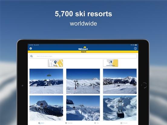 Skiresort.info – ski app, ski resorts and ski lifts worldwide screenshot
