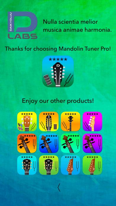 Mandolin Tuner Pro and Chords Screenshots