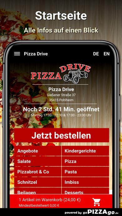 Pizza Drive Pohlheim screenshot 2