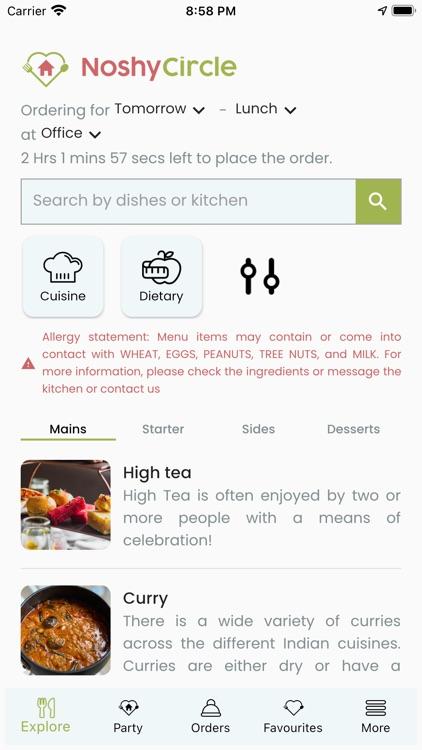 NoshyCircle - Home Cooked Food screenshot-4