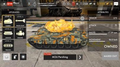 Tank Warfare: PvP Blitz Game紹介画像9