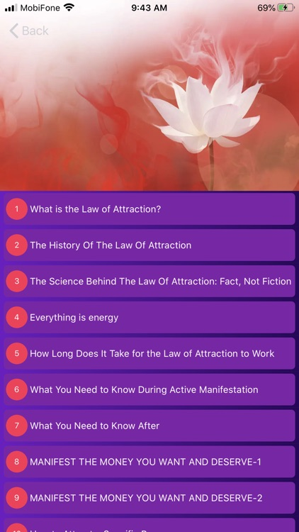Law of Attraction Space