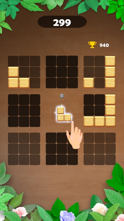 Wood Block Puzzle - Brain Game screenshot-4