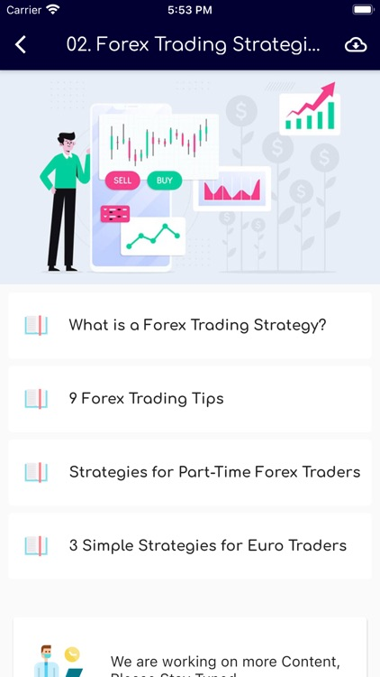 Learn Bitcoin & Forex Trading screenshot-4