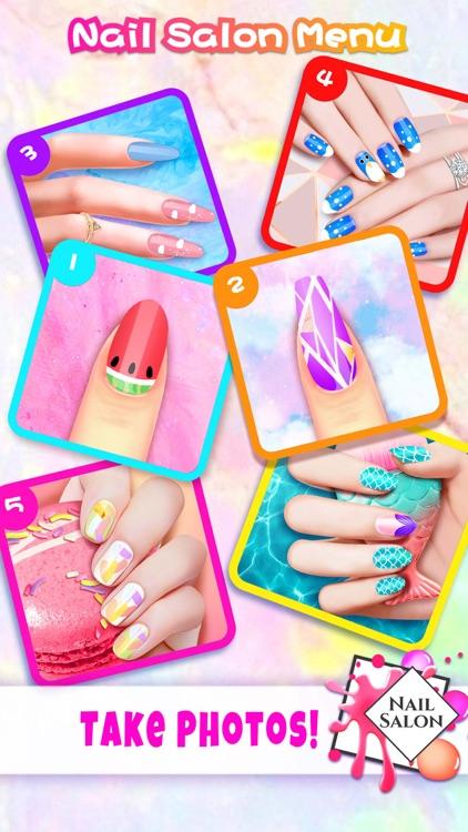 Super Nail Salon: Girl Games screenshot-4