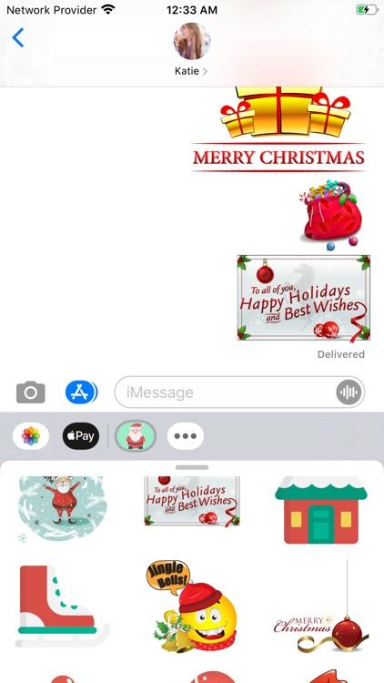 Christmas Fashion Stickers screenshot-4