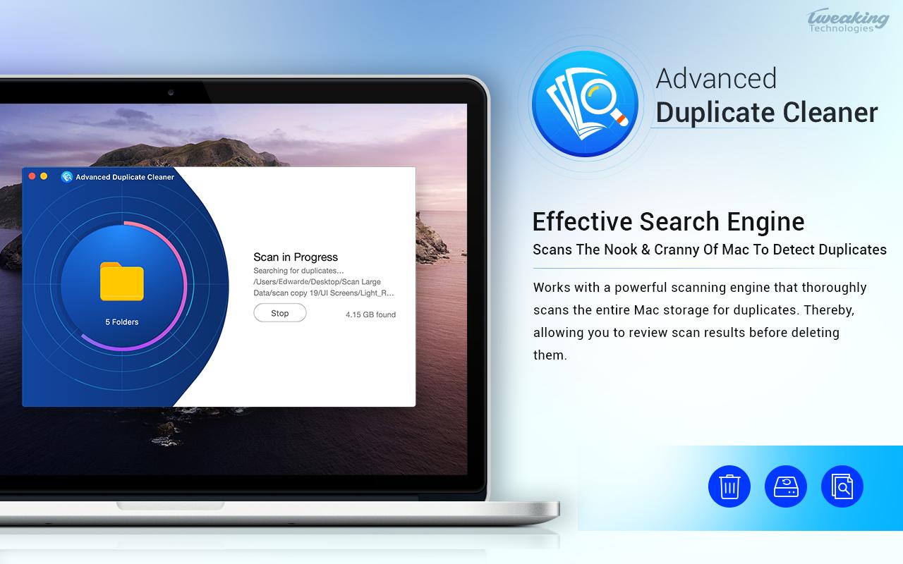 Advanced Duplicate Cleaner 1.3 Mac 破解版 重复文件清理工具