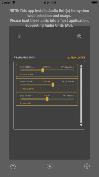 WU: AUPeakLimiter screenshot 4
