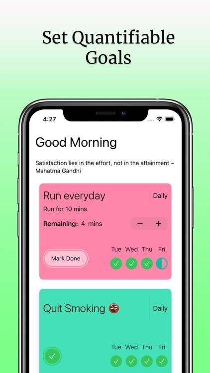 Daily Habit Planner & Tracker screenshot-4