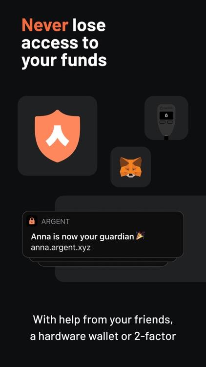 Argent – DeFi in a tap screenshot-7