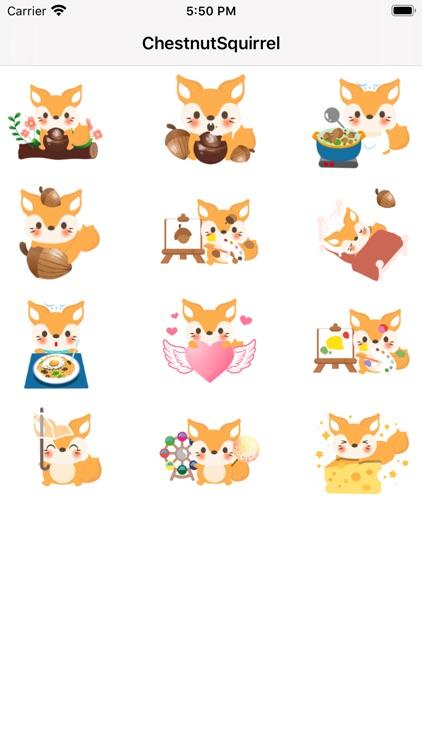 ChestnutSquirrel Sticker