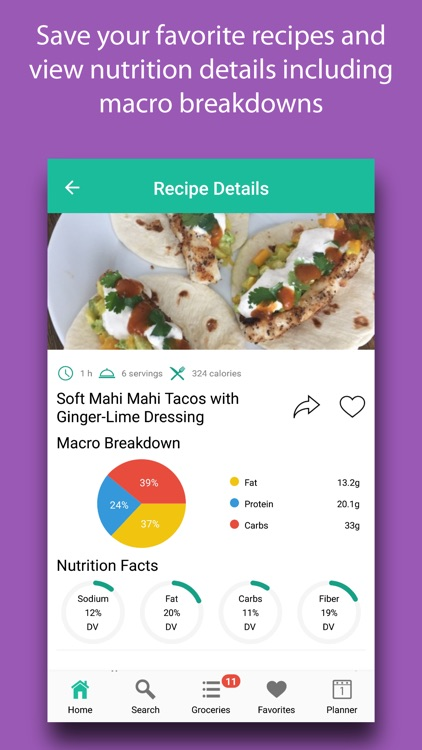 Diet Meal Planner screenshot-3