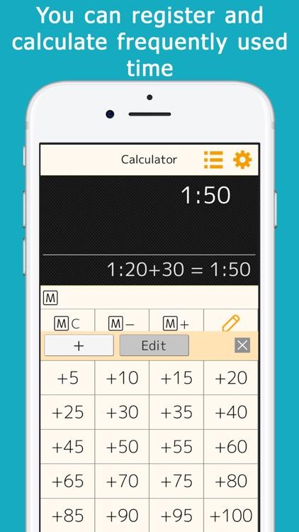 Time : Calculator++ screenshot-3
