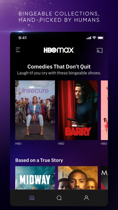 Screenshot of HBO Max: Stream TV & Movies App