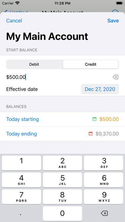 Cashflows Pro screenshot-5