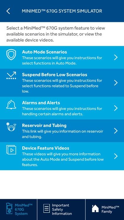 MiniMed™ Virtual Pumps App