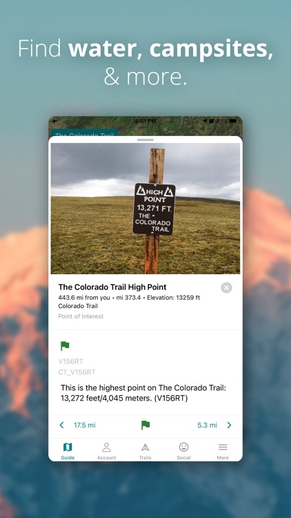 Hiking - Guthook Guides screenshot-3