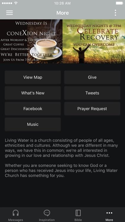 Living Water App