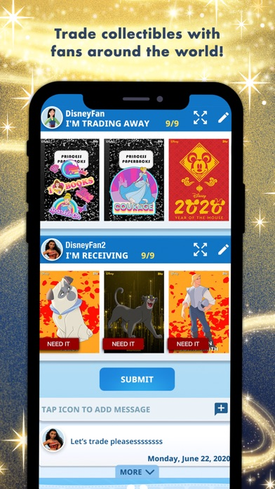 Disney Collect! by Topps Screenshot