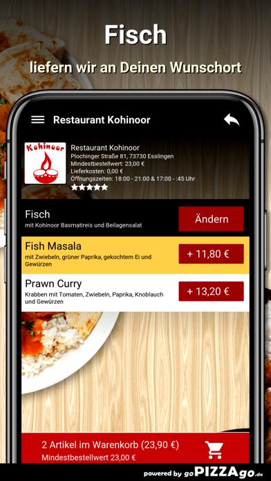 Restaurant Kohinoor Esslingen screenshot 6