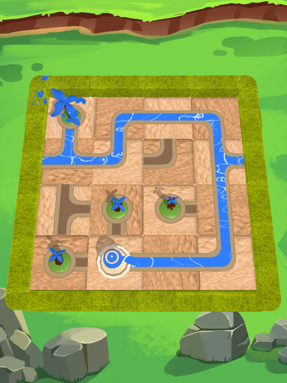 Water Connect Puzzleのおすすめ画像2