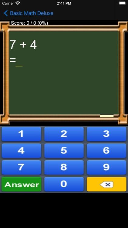 Basic Math Deluxe screenshot-7