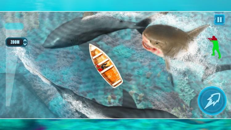 Hungry Shark Hunter Attack 3D screenshot-4
