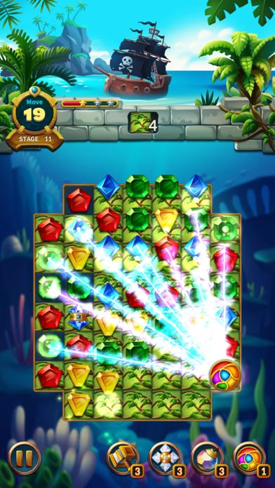 Jewels Fantasy Legend - Match3Captura de pantalla de10