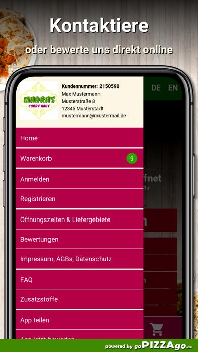 Madras Curry Haus Karlsruhe screenshot 3