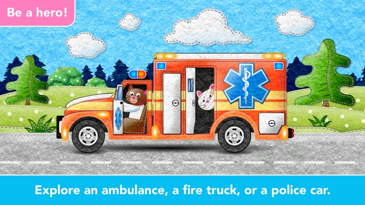 Ice Cream & Fire Truck Games 4 screenshot-6