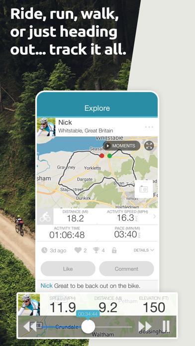 Map My Tracks: walking proのおすすめ画像1