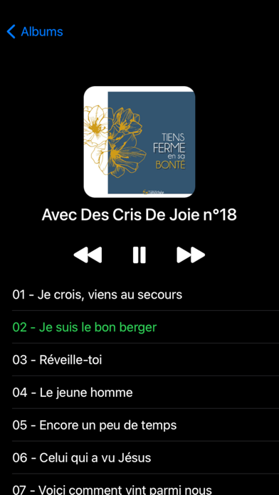 AvecDesCrisDeJoie Screenshot