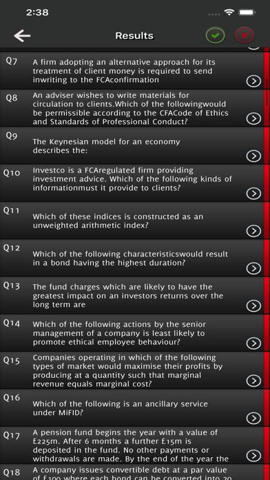 IMC Investment Management Exam screenshot 4