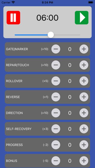 RC Comp Score Calculator Screenshot