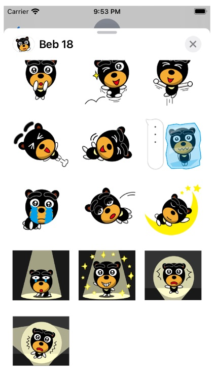 Beb 18 Stickers screenshot-3
