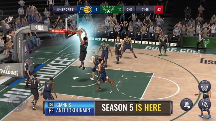 NBA LIVE Mobile Basketball screenshot-0