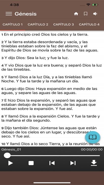 La Santa Biblia Con Audio screenshot-3
