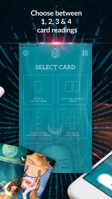 The Light Seer's Tarot screenshot 3