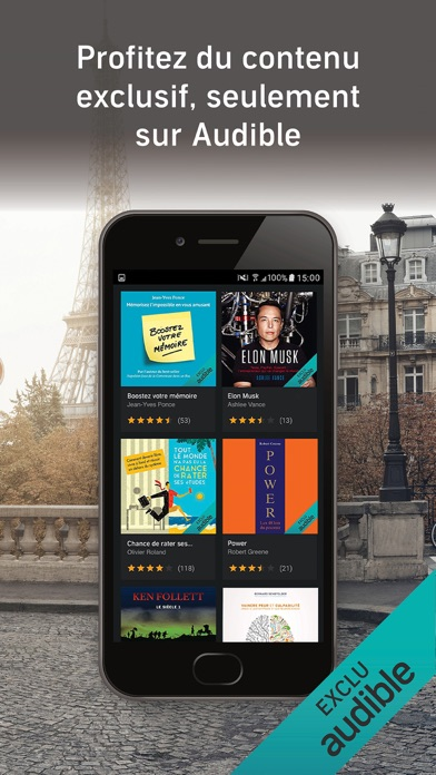 messages.download Audible - Livres Audio software