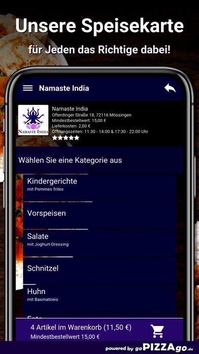 Namaste India Mössingen screenshot 4
