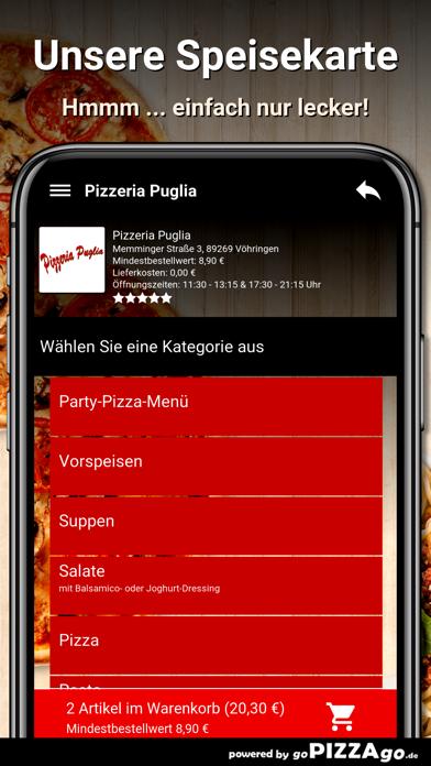 Pizzeria Puglia Vöhringen screenshot 4