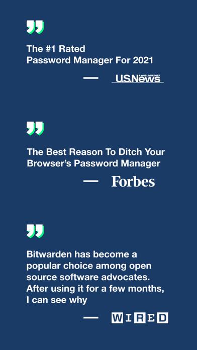 Bitwarden PasswortmanagerScreenshot von 8