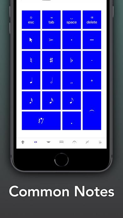 Screenshot #1 pour Sibelius KeyPad for Mac